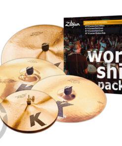 """Zildjian K Custom """"Worship"""" Series KC0801W Set Piatti 4pz cymbal cymbal piatto piatti"""