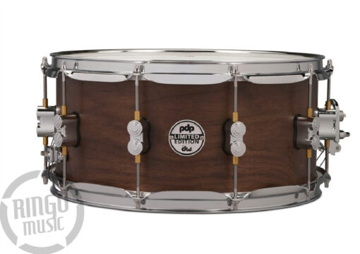 "PDP by DW Limited Edition Maple/Walnut 14x6.5"" PD805.118 Snare Snaredrum Rullante Drum Drums Batteria"