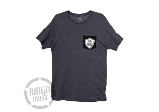 Zildjian T-shirt Patch Pocket Grey Maglia Maglietta Drum Drums Batteria