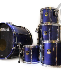 "Yamaha Stage Custom Advantage 22"" Blue Metallic 5pz drum drums drum set batteria"