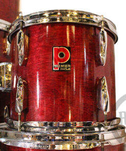 """Premier APK 22"""" Rosewood Lacquer 7pz Drum Drumset Drums Batteria"""
