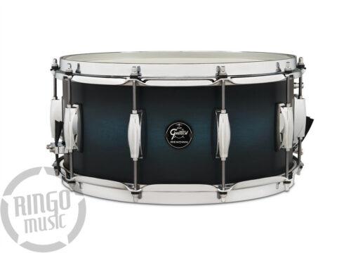 Gretsch Renown Maple 14x6.5_ snare snaredrum rullante satin antique blue burst