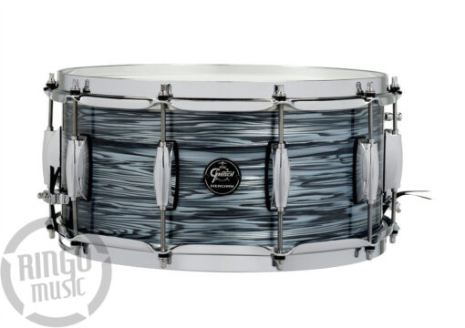 Gretsch Renown Maple 14x6.5_ snare snaredrum rullante silver oyster pearl