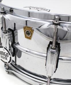 """Ludwig Supraphonic Alluminio 14x6.5"""" LM402 Aluminum Alluminio smooth shell snare snaredrum rullante drumsnare"""